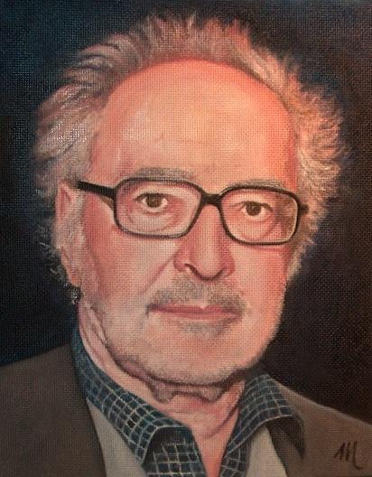Jean-Luc Godard by mario